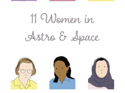 Calendar: 11 Women in Astro & Space