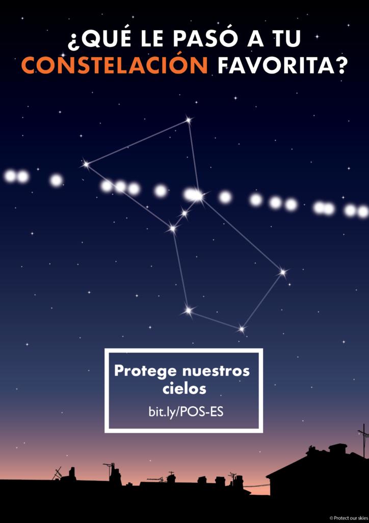 Constelación y satélites